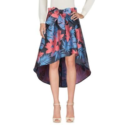 コッカ KOCCA ひざ丈スカート ブルー 42 ポリエステル 100% ひざ丈スカート