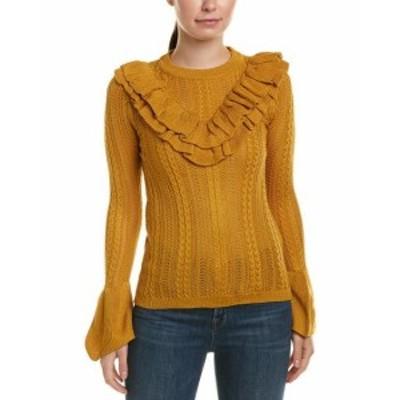 ファッション トップス Flying Tomato Bell-Sleeve Sweater