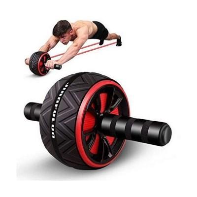 腹筋ローラー 最新進化版 アブローラー アブホイール エクササイズウィル エクササイズローラー スリムトレーナー 超静音 取り付け簡単 膝マ
