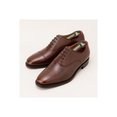 墨田区 ふるさと納税 紳士靴スコッチグレイン「アシュランス」  NO.3526 ダークブラウン 23.5cm EEE