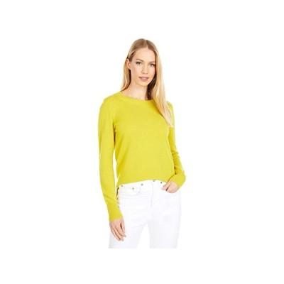 J.Crew Cashmere Crew Neck Sweater レディース セーター Brilliant Chartreuse