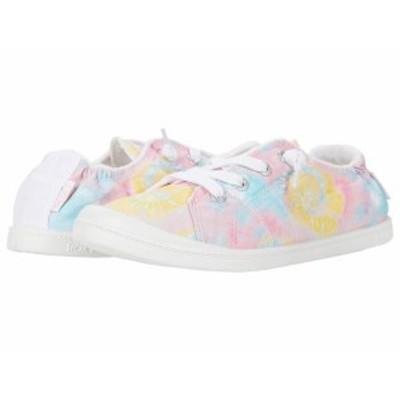 ロキシー レディース スニーカー シューズ Rory Bayshore Tie-Dye Soft Lime/Ocean/Pink