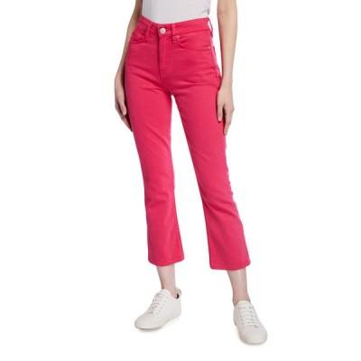 ハドソン レディース デニムパンツ ボトムス Holly High-Rise Cropped Boot-Cut Jeans