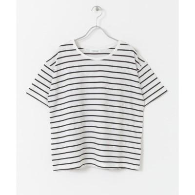 tシャツ Tシャツ TRUECOTTONルーズフィットTシャツ