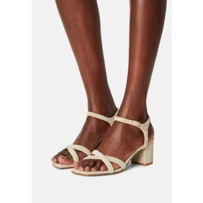 ビアンコ レディース 靴 シューズ BIABEONNA CROSS - Sandals - sand