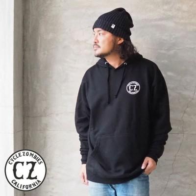 サイクルゾンビーズ パーカー CYCLE ZOMBIES CALIFORNIA2 Pullover Hooded Sweatshirt CZ-MHPS-022 メンズ 裏起毛 スウェット