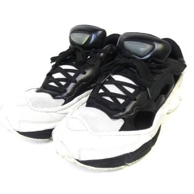 【3月8日値下】adidas by RAF SIMONS 「RS REPLICANT OZWEEGO」レプリカントオズウィーゴスニーカー ホワイト×ブ