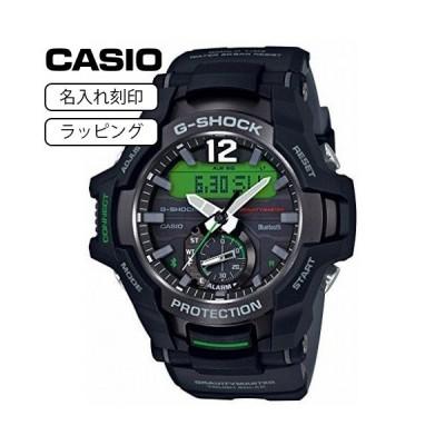 CASIO カシオ 腕時計 Gショック G-SHOCK メンズ ジーショック ソーラー グラビティマスター Bluetooth GR-B100-1A3 ブラック 【名入れ刻印】