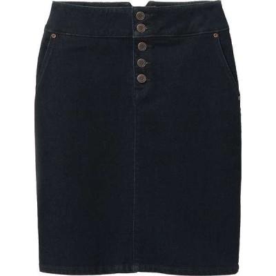 プラーナ レディース スカート ボトムス Prana Women's Aubrey Denim Skirt