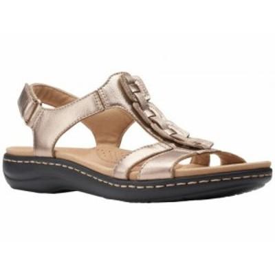 Clarks クラークス レディース 女性用 シューズ 靴 サンダル Laurieann Kay Metallic Leather【送料無料】