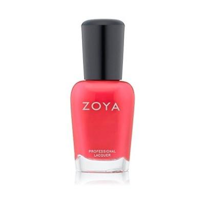 ZOYA ゾーヤ ネイルカラーZP478 ALI アリ 15ml 鮮やかなオレンジピンク マット 爪にやさしいネイルラッカーマニキュア