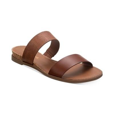 サンアンドプラスストーン サンダル シューズ レディース Easten Slide Sandals, Created for Macy's Taupe Snake