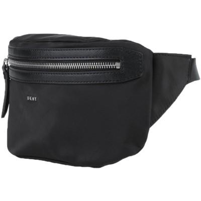 DKNY バックパック&ヒップバッグ ブラック ポリエステル 100% / ポリ塩化ビニル バックパック&ヒップバッグ