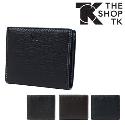 ザ・ショップ・ティーケー 二つ折り財布 コバカラー メンズ TST-8069120 THE SHOP TK | 牛革 本革 イタリアンレザー