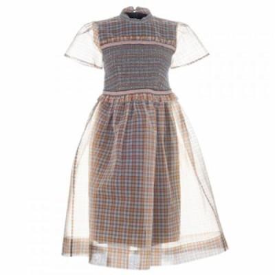 オーラキエリー Orla Kiely レディース ワンピース ワンピース・ドレス Smock Dress Brown Mix Check