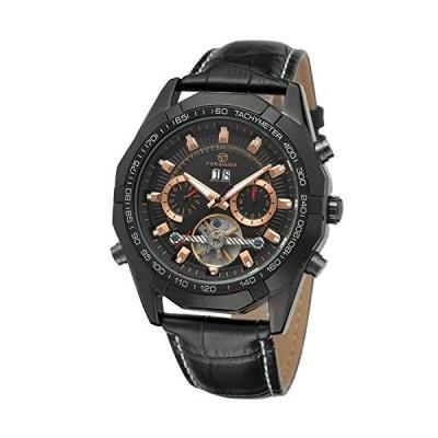 FORSININGメンズ腕時計自動レザーfsg340?m3b1