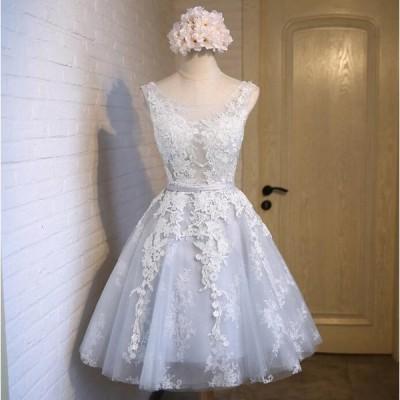 ウェディングドレス ミニ カラードレス ウエディングドレス 花嫁 二次会 ドレス 結婚式 コンサート 演奏会 ブライズメイド 介添え ワンピース パーティー