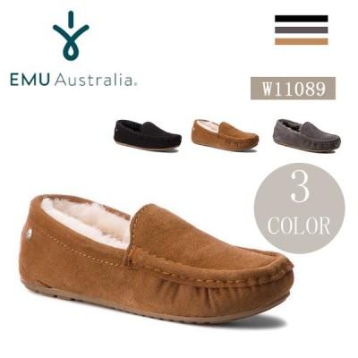 在庫処分EMU emu エミュー レディース シューズ モカシン シープスキン Talia PL W11089 EMU emu エミュー レディース シューズ