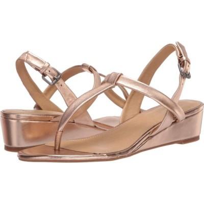 スプレンディッド Splendid レディース サンダル・ミュール シューズ・靴 Avalon Rose Gold Metallic Leather