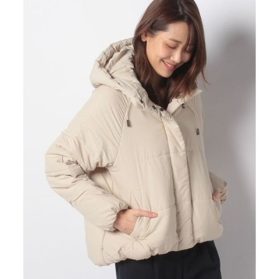 【コエ】中綿フード付きショートコート
