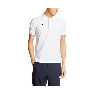 アシックス フィットネス シャツ XA6186 メンズ ホワイト SSサイズ