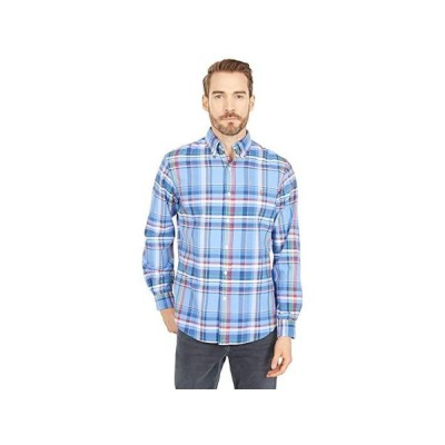 ポロ・ラルフローレン Classic Fit Plaid Oxford Shirt メンズ シャツ トップス Blue/Red Multi