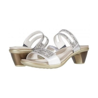Naot ナオト レディース 女性用 シューズ 靴 ヒール Temper - White Pearl Leather/White Multi Rivets