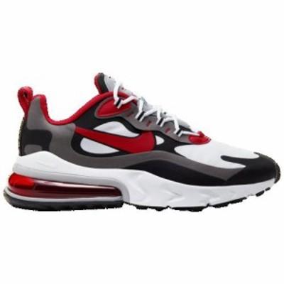 (取寄)ナイキ メンズ エア マックス 270 リアクト Nike Men's Air Max 270 React Black University Red White Iron Grey 送料無料