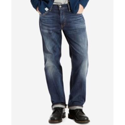リーバイス メンズ デニムパンツ ボトムス Men's 569 Loose Straight Fit Jeans Crosstown Stretch - Waterless