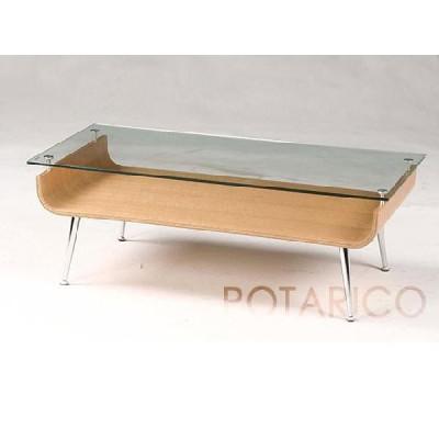 センターテーブル ガラステーブル ローテーブル コーヒーテーブル リビングテーブル NET-301(ナチュラル) ナチュラル-aaz