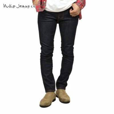 ヌーディージーンズ ジーンズ メンズ 正規販売店 Nudie Jeans ジーパン  レンディーン LEAN DEAN 498 1119460 DENIM JEANS BLACK DRY 16