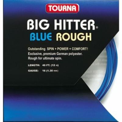 トーナ Tourna ユニセックス テニス Big Hitter Rough 16 Tennis String - 40 ft. Set Blue