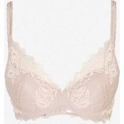 ワコール WACOAL レディース ブラジャーのみ インナー・下着 Lace Perfection stretch-lace underwired bra ROSE MIST