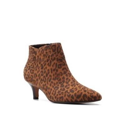 クラークス レディース ブーツ&レインブーツ シューズ Collection Women's Linvale Sea Boots Leopard