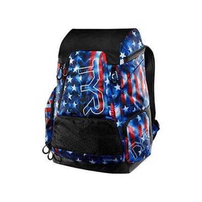 TYR Alliance 45l Backpack USA Genesis, RD/WHT/BLU, one Size 並行輸入品