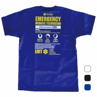 GUARD ガード EMTスターオブライフ Tシャツ 救急救命士 s-206 メンズ アウトドア レスキュー ライフセービング
