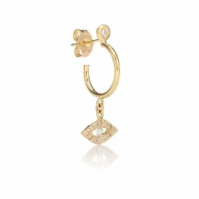 ジャッキーアイチェ Jacquie Aiche レディース イヤリング・ピアス ジュエリー・アクセサリー Evil Eye 14kt gold and diamond earring