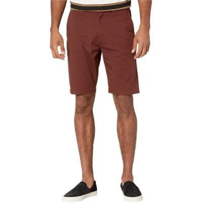 ボルコム Volcom メンズ ショートパンツ ボトムス・パンツ Frickin Modern Stretch Chino Shorts Mahogany