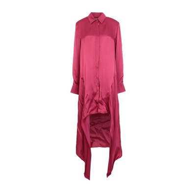 ジャストカヴァリ JUST CAVALLI ミニワンピース&ドレス ガーネット 36 レーヨン 100% ミニワンピース&ドレス