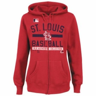 Majestic マジェスティック スポーツ用品  Majestic St. Louis Cardinals Womens Red Team Property Authentic Collection