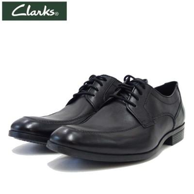 クラークス Clarks コンウェルアプロン Conwell Apron  26146247 ブラックレザー(メンズ)