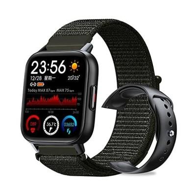 SMART SWAP BLACK スマートウォッチ 腕時計 バッテーリー 長持ち 多機能 防水 防塵 Bluetooth 1.69インチ 大画面 スクリ