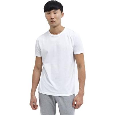 レイニングチャンプ Reigning Champ メンズ Tシャツ トップス T - Shirt - 2 - Pack White