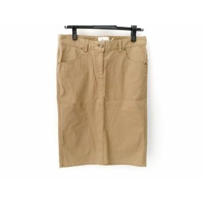 リジェール Lisiere スカート サイズ34 S レディース ブラウン【中古】20200618