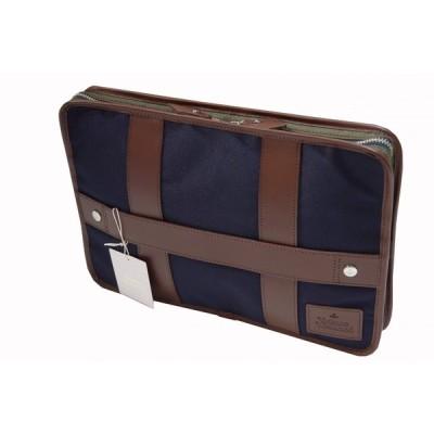 Vivienne Westwood ヴィヴィアンウエストウッド クラッチバッグ ブリーフケース B24030 ブルー 新品正規品