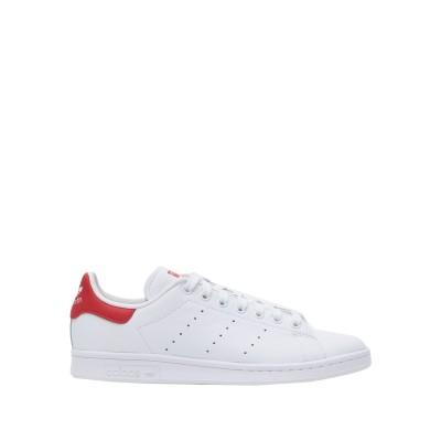 ADIDAS ORIGINALS スニーカー&テニスシューズ(ローカット) ホワイト 4 革 スニーカー&テニスシューズ(ローカット)
