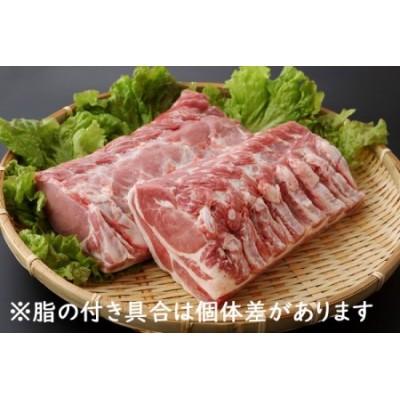 山形県庄内SPF豚最上川ポークロースブロック4kg
