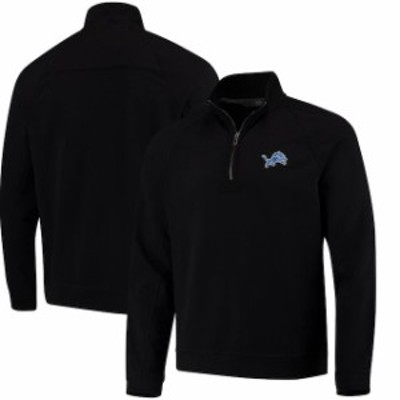Tommy Bahama トミー バハマ スポーツ用品  Tommy Bahama Detroit Lions Black Ben & Terry Coast Quarter-Zip Sweater
