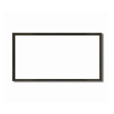 長方形額 木製額 縦横兼用額 前面アクリル仕様 黒茶色長方形額(500×250mm)コクタン色