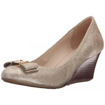 コールハーン レディース パンプス Cole Haan Women's Tali Grand Bow Wedge Pump Metallic